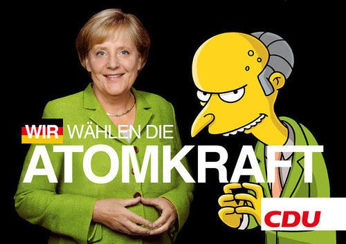 Wir wählen die Atomkraft. CDU