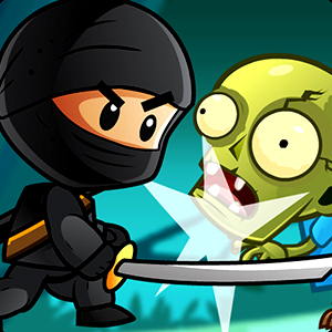 Ninja kid V/s zombies | shooting Game | Play Online for free |