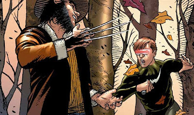 Wolverine e Ciclope by Marco Turini