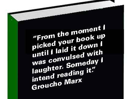 groucho marx book blurb
