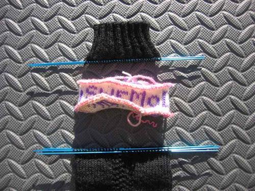 Canada sock, de-cuffinated