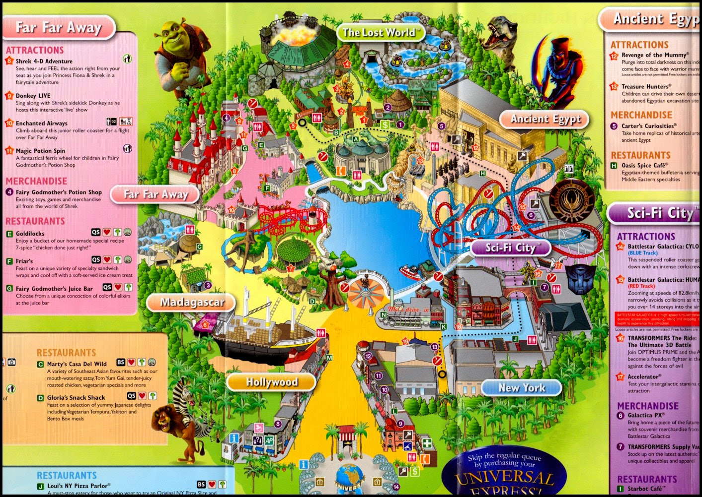 The Splendid and Thematic Universal Studios Singapore; It Is More than Just a Park!
