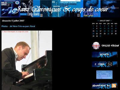 Jazz Chroniques et coup de coeur