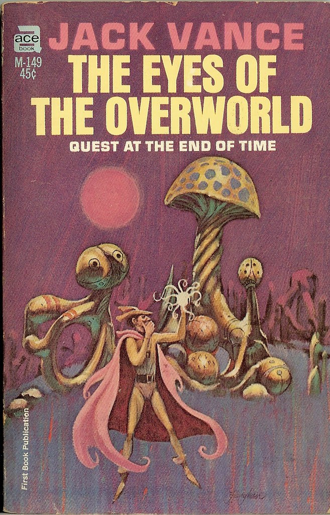 Jack Gaughan - Eyes of the Overworld, paperback cover, 1966