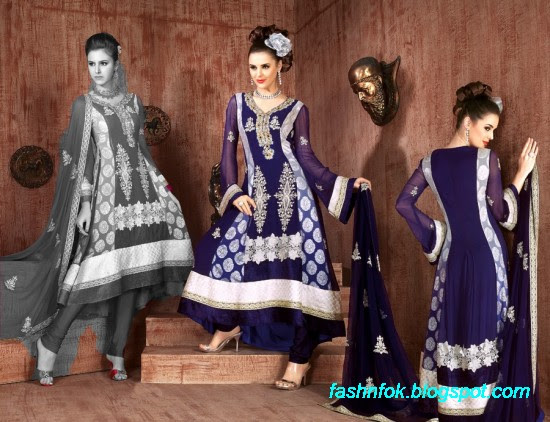 Anarkali-Fancy-Bridal-Wedding-Wear-Frocks-Dress-New-Fashionable-Designs-Collection-
