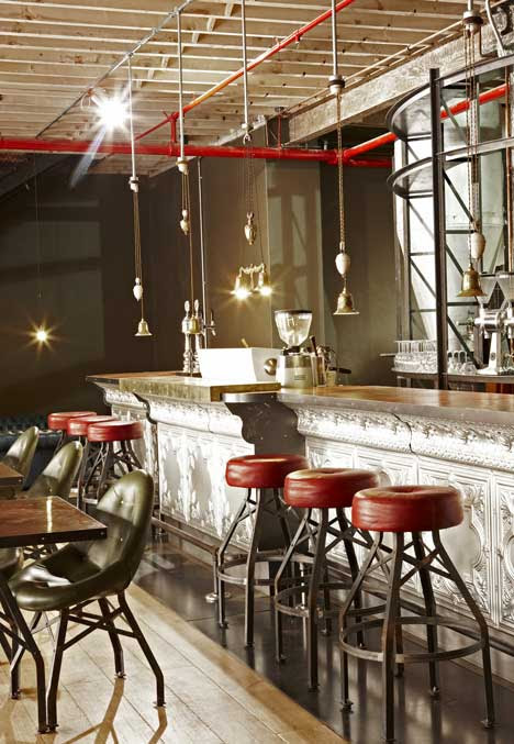 Truth Coffee shop in Cape Town by Haldane Martin