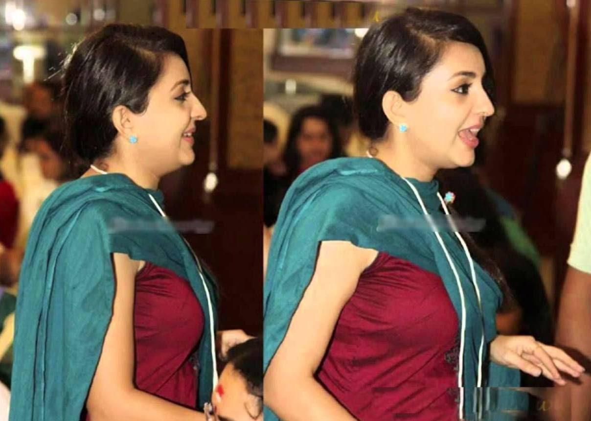 Top Actress Side View Hot Oops Photos Navel Saree Ppl360