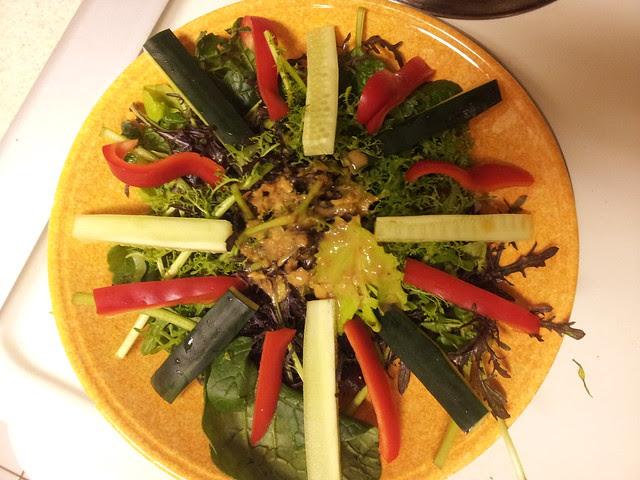 Simple Thai salad