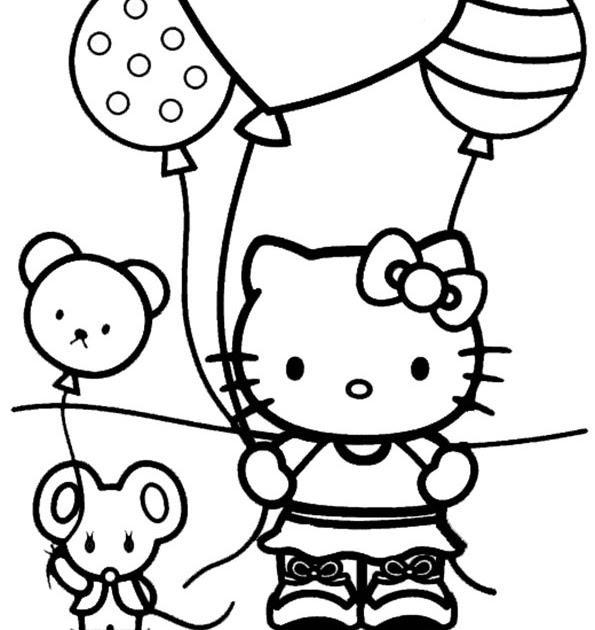 geburtstag hello kitty ausmalbilder  hello kitty 305