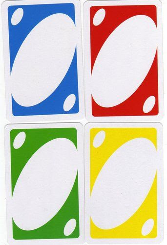 uno card template - Google Search | Educational Printables ...