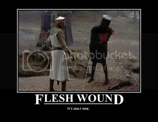 flesh wound Pictures, Images and Photos