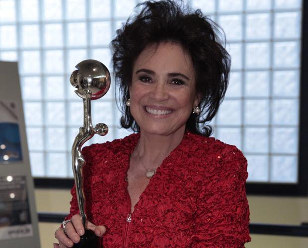Regina Duarte (Foto: Domingão do Fautão / TV Globo)