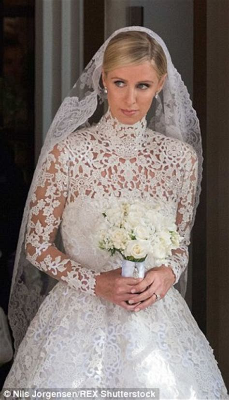Nicky Hilton's wedding dress mimics Kate Middleton and