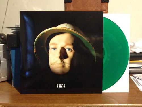 Jaill - Traps LP - Green Vinyl by Tim PopKid