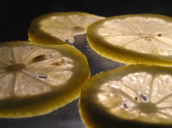 Plasterki cytryny