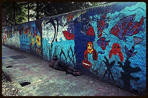 Just Another Brick In The Wall by firoze shakir photographerno1