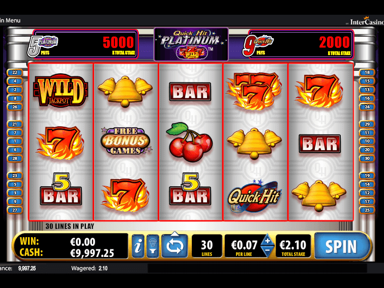Slot machines quick hit