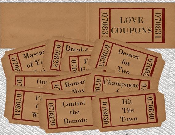 EDITABLE Love Coupon, Love coupon book, Editable Coupon Template ...