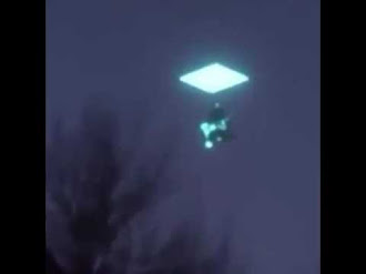 Ovni Con forma de Diamante Captado en Yakutia / Bizarre diamond-shaped 'UFO' in Yakutia