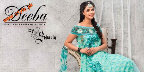 Latest Lawn Collection 2012 By Shariq Textiles 005