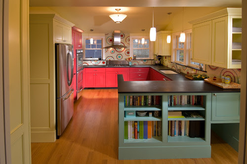 Paramount Granite Blog 5 Bright Colorful Kitchens