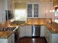 Home Design Small Kitchen