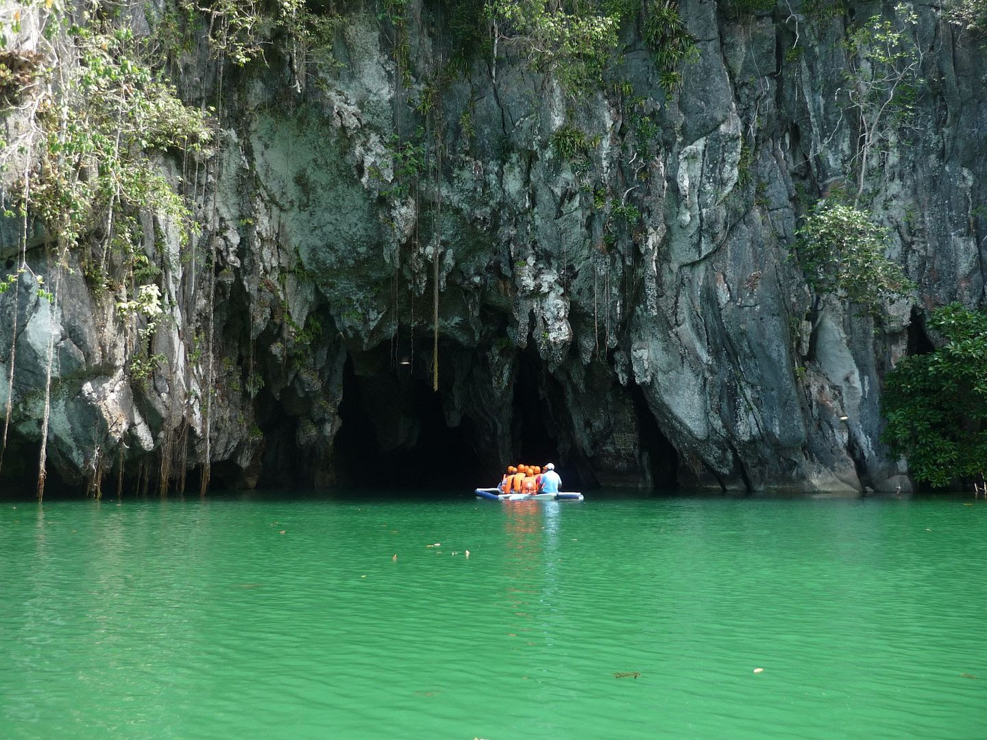 Boating into the Underground River in Puerto Princesa, Palawan, Philippines photo 2014-03-26082415_zpseab2d352.jpg