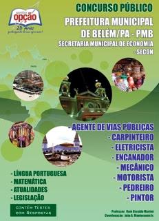 Prefeitura Municipal de Belém - PA / SECON-DIVERSOS CARGOS