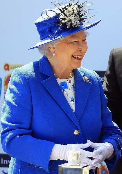 Diamond Jubilee celebrations ... Queen Elizabeth II.