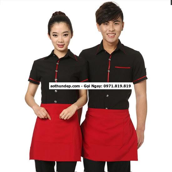 đồng phục quán cafe giá rẻ