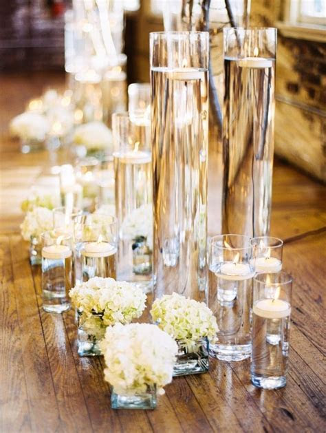 280 best Floating Candle Centerpieces images on Pinterest
