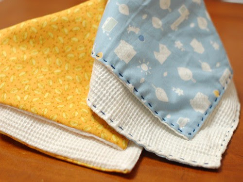 bibs for my sister's second baby