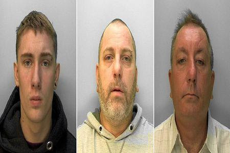 L-R: Mason Abberley, Steven Abberley, Paul Ansbro