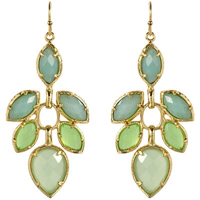 enjoy this coloring..Kendra Scott Exclusive Jeanine Earrings in Kiwi