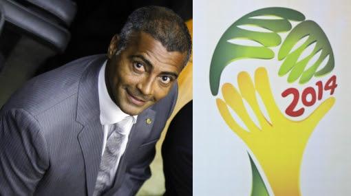 Romario, Ricardo Teixeira, Copa del Mundo, Brasil 2014, Mundial Brasil 2014, CBF, Confederación Brasileña de Fútbol
