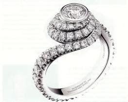 Inexpensive wedding rings: Brad pitt wedding ring damiani