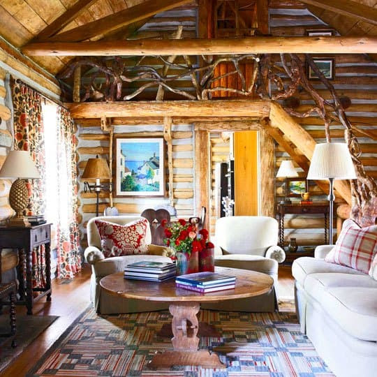 Rustic Elegant Cabin