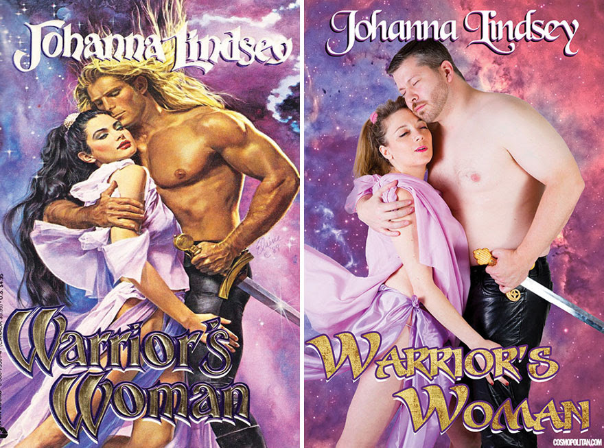 10 - 10 Pics Of Real People Hilariously Recreating Romance Novels