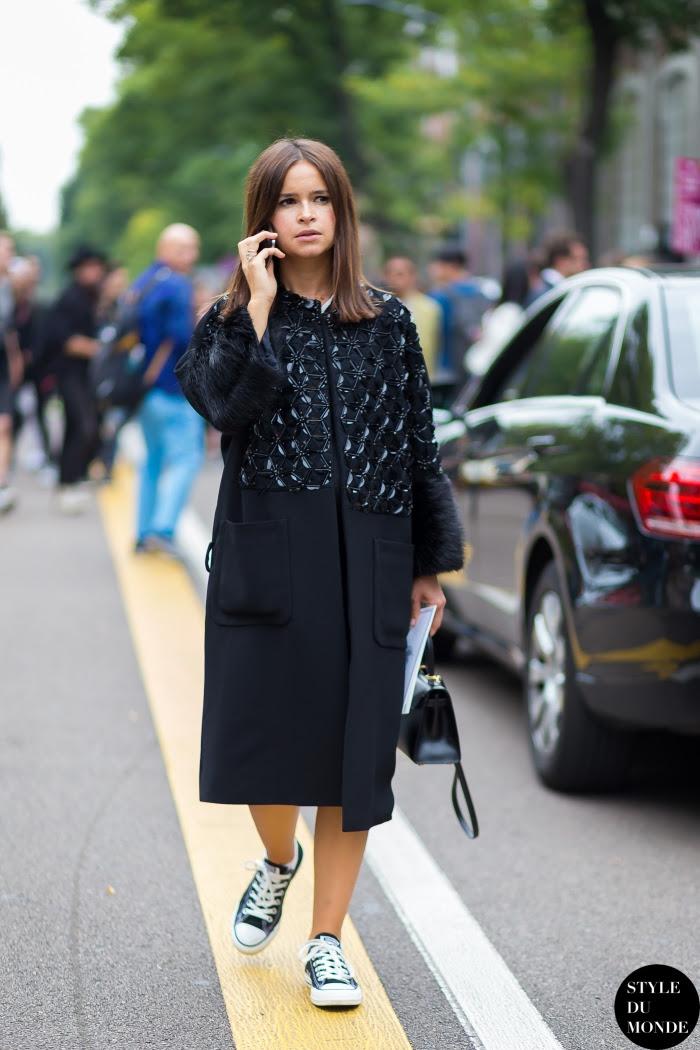 Miroslava Duma Mira Duma Street Style Street Fashion Streetsnaps by STYLEDUMONDE Street Style Fashion Blog