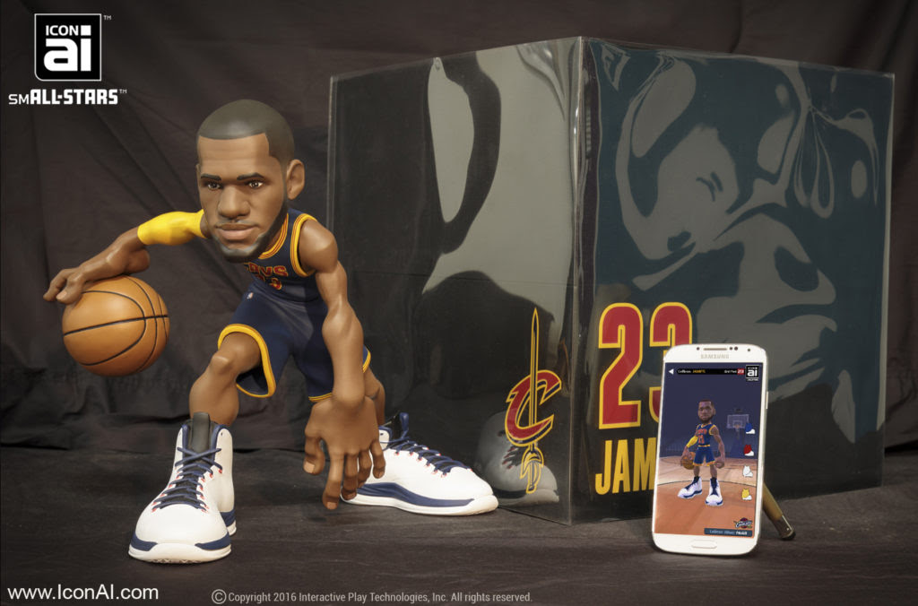Toy Focus: Icon AI NBA smALL-Stars Figures