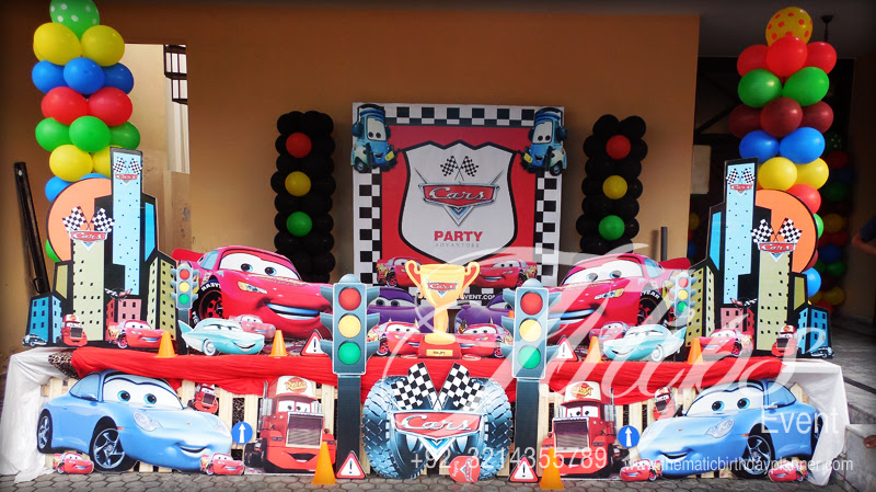 Cars Birthday Party Theme Photos In Lahore Pakistan