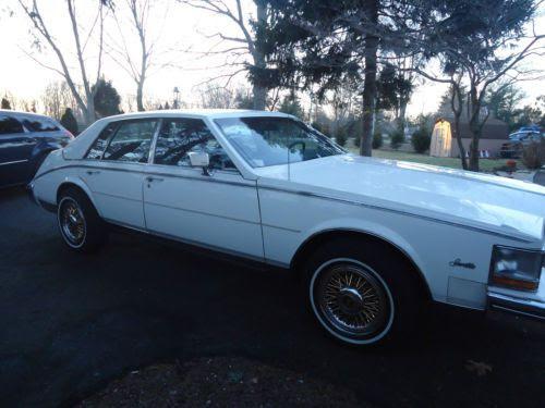 Find used 1985 Cadillac Seville Base Sedan 4-Door 4.1L in ...
