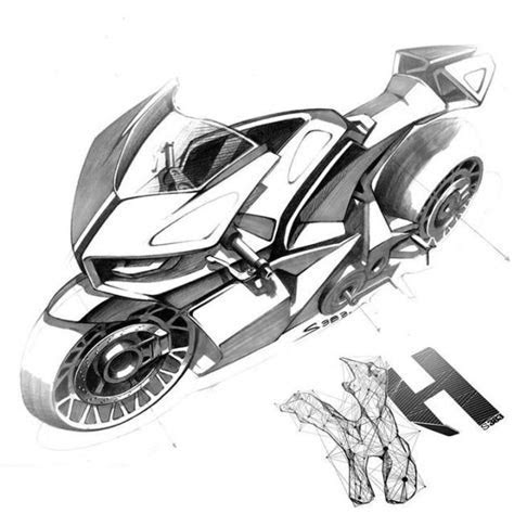 Motorcycle drawing free download on Ayoqq.org