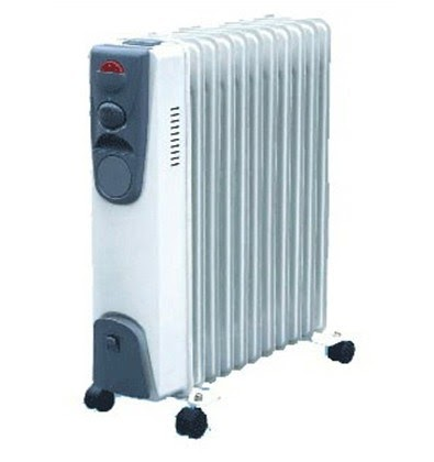 Best Radiators Electric Oil Filled Radiator Heater
