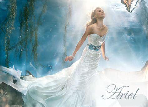 'Ariel' from Alfred Angelo's Disney Princess Wedding Dress