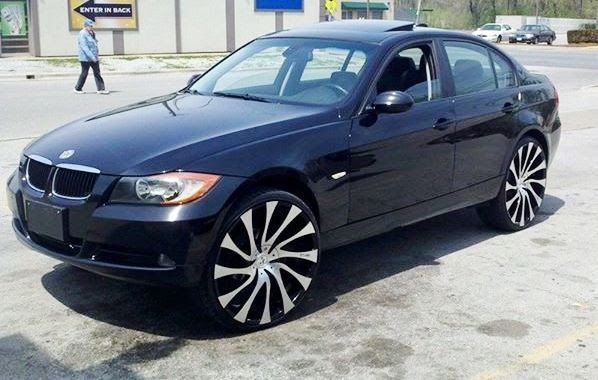 Ace 1 Eric S Black Bmw 3 Series On 24 Quot Starr