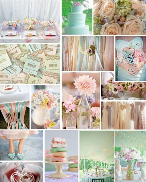 Colors Combos, Vintage Wedding, Pastel Wedding, Pastel