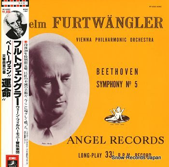 FURTWANGLER, WILHELM beethoven; symphony no.5 in c minor, op.67