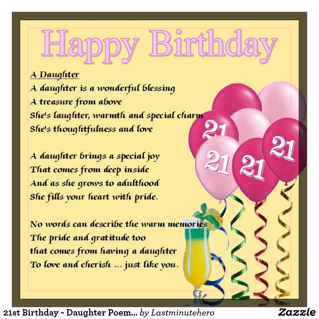 Geburtstagssprüche Zum 21. Geburtstag