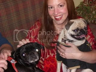 Laura with Harley and Salinger
